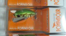 Jackall Top Water Bug MICRO POMPADOUR # Tonosama Frog NEW J1012