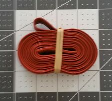 """Extra Large 40"""" X 3/4"""" (80"""" Circumference) Rubber Pallet Bands Red"""