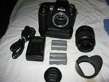Nikon D d90 12.3mp cámara digital-negro Top