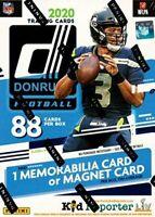 2020 PANINI DONRUSS FOOTBALL BLASTER NFL 88 Cards Per Box Factory Sealed