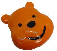 Orange Bear Coloured Contact Lens Lenses Travel Kit - Mirror - Case - Tweezers