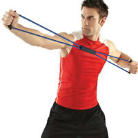 Pull Rope Line 8-Shaped Band Chest Latex Expander Yoga Pilates Fitness Gym Gear