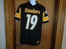 Pittsburgh Steelers Fanatics Men's JuJu Smith-Schuster Short Sleeve Shirt S M L