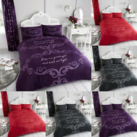 Duvet Cover Set With PillowCases King Size Double Single Super Printed Quilt New