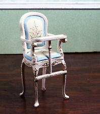 Miniature Dollhouse Furniture By JIAYI Belmont Nursery High Chair 1/12 1:12Scale