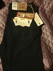 New black levi jeans 36 waist