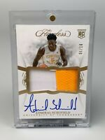 2019 Panini Flawless Collegiate Rookie Patch Auto RC Admiral Schofield RPA /10