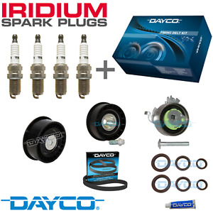 DAYCO TIMING BELT KIT + IRIDIUM PLUGS - for Holden Astra 1.8L X18XE Z18XE TS AH