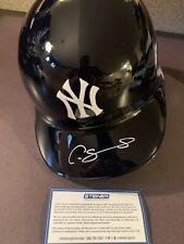 Gary Sanchez Yankees Signed Autographed Authentic Batting Helmet Steiner COA