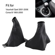 Gear Shift Knob Cover Shifter Gaiter Boot Fit For Vauxhall Opel 01-06 Corsa B