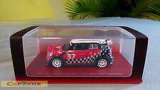 "1:43 True Scale TSM, 2011 Mini Countryman WRC ""Paris Auto Show Presentation"""