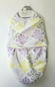 Swaddle Bag Purple Medallion Newborn 0-3 m Sleep Blankets and Beyond Baby Gift