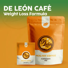 De Leon Cafe Weight Loss Formula cappuccino flavor Ardyss Coffee 15 packets bag