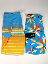 Billabong Boardshorts Recyler Series Men's 32 PX3/Donavon Collection(lot of 2)