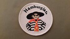 hamburgler embroidered mcdonalds patch
