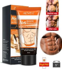Six Pack Cream Abs Stimulator Fat Burner Weight Loss Fast Slimming Flat Belly