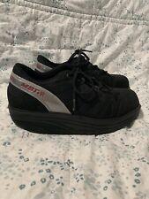 MBT Black Sneakers Shoes Men Size 7.5 Rubber Thick Soles
