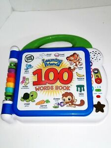 """Leap Frog Learning Friends """"100 Words Book"""" (Sounds & Lights) Interactive..."""