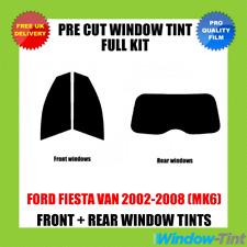 Ford Fiesta Van 2002-2008 (mk6) Full Pre Cut Window Tint