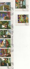 Thematic Stamps Others - PARAGUAY 1978 SNOW WHITE 9v used