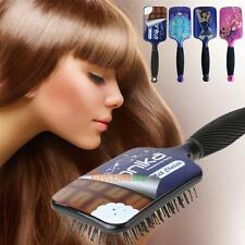 Large Paddle Hair Brush Leopard Print Hair Comb for Professional/Home Use