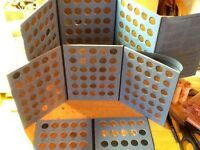 1909 - 2019 Lincoln Cent Set, with 22D; Wheat. & Mem.; Circ.&BU In Coin Folders!