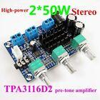TPA3116D2 2.0 CH Class D 50W+50W High Power Stereo Digital Amplifier Board 50W*2