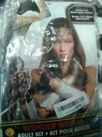 Wonder Woman Adult Kit Rubie's #32977 Halloween Costume Batman v Superman NEW