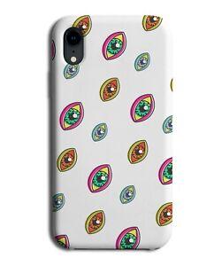 Multiple Eyes Pattern Phone Case Cover Eye Ball Eyeball Retro Vintage Pupil M679