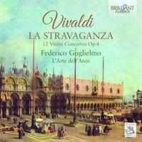 FEDERICO GUGLIELMO - LA STRAVAGANZA-12 VIOLINKONZERTE OP.4 2 CD NEU VIVALDI