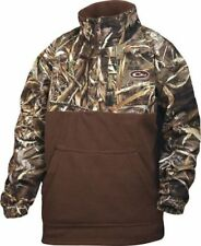 Drake Waterfowl MST Eqwader 1/4 Zip Pullover Youth MAX 5 Size 10 DW3020-015-10