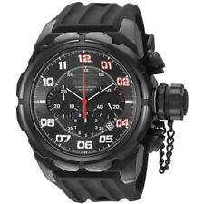 Invicta 22419 Men's Russian Diver Chronograph Black Dial Watch