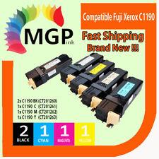 5x Compatible Cartridge for Fuji Xerox Docuprint C1190 C1190FS [2BK,1C,1M,1Y]