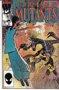 NEW MUTANTS (1983 series) #27 Back Issue Near Mint (9.1)