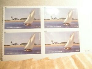 Scott # 4558 Plate Block Of 4 Stamps MNH, Edward Hopper - MNH
