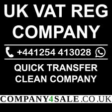 Vat Registered limited company for sale business companies code 8352TW