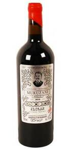 "Georgischer Wein ""Mukuzani"" Stalin Mimino Вино Сталин 13% 0,75L Vino Грузия troc"