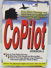 COPILOT V. 3 EASY FLIGHT PLANNING & REALTIME NAVIGATION FOR FS 2000&2004 NEW