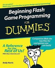 Beginning Flash Game Programming For Dummies, Paperback by Harris, Andy