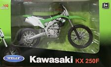 Welly 1:10 Scale Kawasaki KX250F Diecast Motorcycle Replica Gift