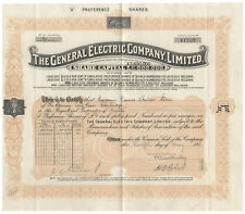 An Early General Electric Company