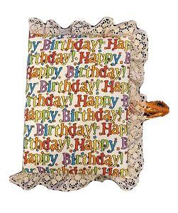 Happy Birthday 4x6 Photo Album / Scrapbook / Brag Book 100 Page- HANDMADE -NEW