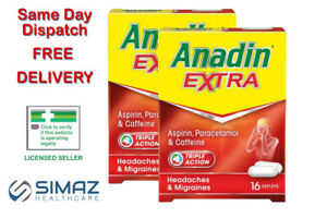 Anandin Extra 8 12 16 32 Caplets Max 32 Caplets Andin