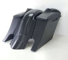 "6"" Down & Out Harley Davidson Stretched SaddleBags Replacement fender 09-13 Dual"