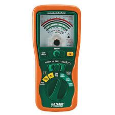Extech 380320 Analog Manual Range Insulation Tester 250v 500v Amp 1000