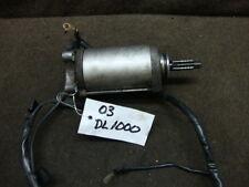 03 2003 SUZUKI DL1000 DL 1000 V-STROM ENGINE STARTER #M43