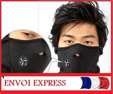 TOUR de COU visage MASQUE CAGOULE Protection  noir grand ski sport hiver Moto