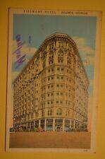 PIEDMONT HOTEL, ATLANTA GEORGIA 1939 POSTCARD  *FREE SHIPPING*