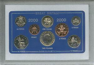 2000 Vintage Coin Set 21st Birthday Birth Year Present Wedding Anniversary Gift