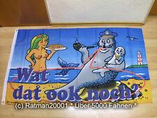 Fahnen Flagge Wat dat ook noch - 90 x 150 cm
